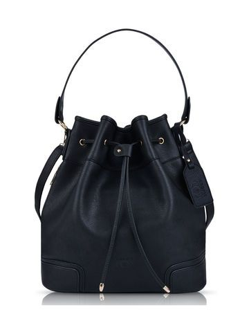 Bucket Bag in schwarz