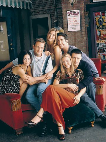 Friends Sitcom Gruppenfoto