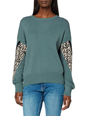 Leoparden Muster Pullover s.Oliver