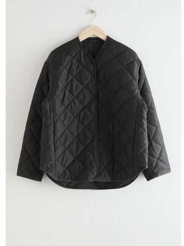 Double Breasted Steppjacke