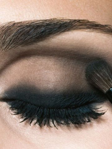Smokey Eyes mit Drama