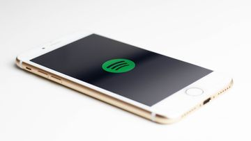 Spotify App auf iPhone