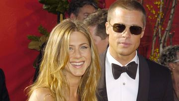jennifer aniston brad pitt red carpet