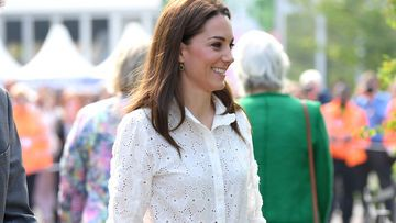 Kate Middleton in Supergas
