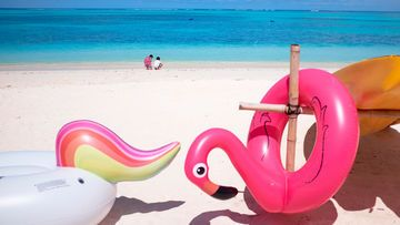 Einhorn Flamingo Pool-Floats Meer