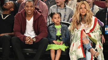 Beyonce Blue Ivy Auktion Basketball game