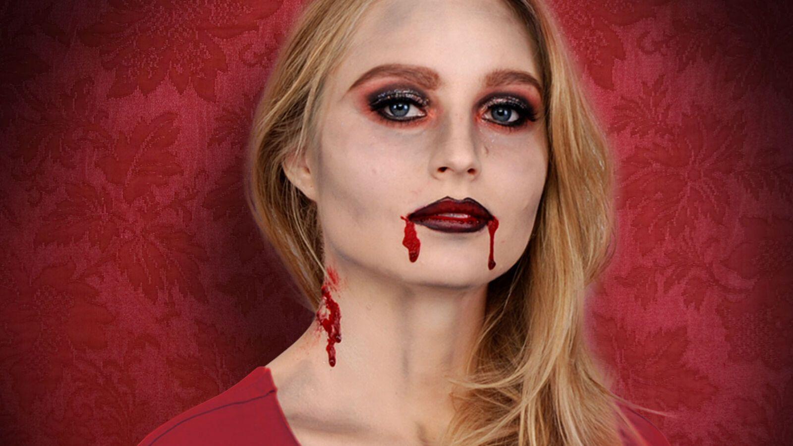 Vampir schminken: Step by Step Anleitung